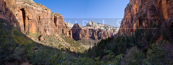 20090314-178 Canyon view Upper Emerald Pool pano 2