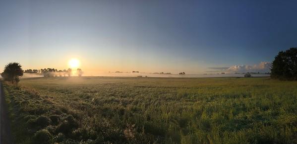 septembermorgon i Rönneådalen (mobilfoto)