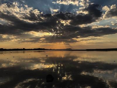 En kväll vid Sandön i mitten av maj (mobilfoto)