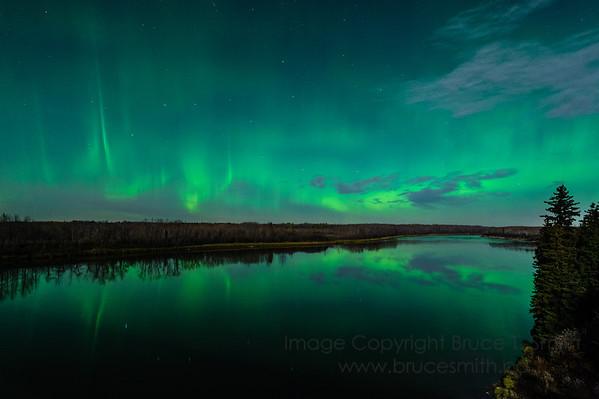 76 Aurora Borealis Reflection