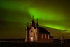 99 Church and Aurora Borealis