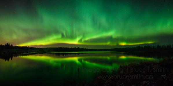 179 Amazing Aurora Borealis Panorama