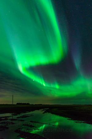 142 Amazing green swirl