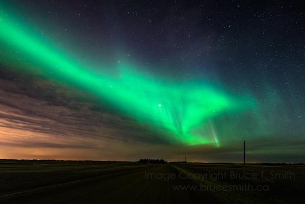 138 Aurora Arch and Edmonton Glow