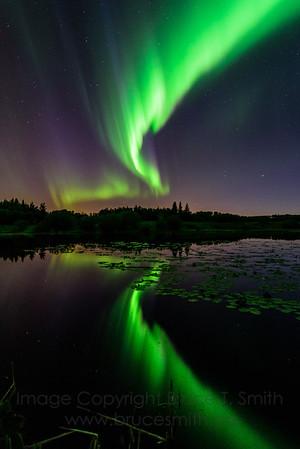 192 Aurora Borealis Reflection