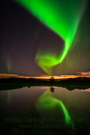 167 Perfect Aurora Reflection