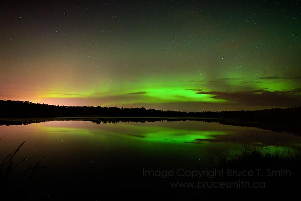 101 Aurora Borealis Reflection