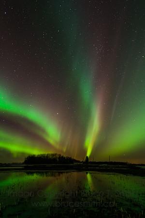 131 Incredible Aurora Borealis reflection