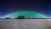 184 Aurora Borealis Arch Panorama
