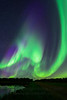Huge aurora borealis display