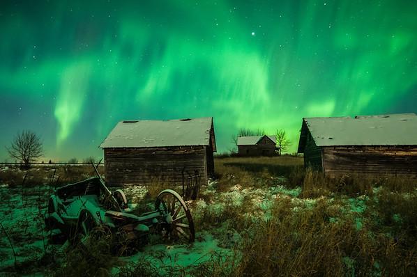 87 Old Farm Aurora Borealis