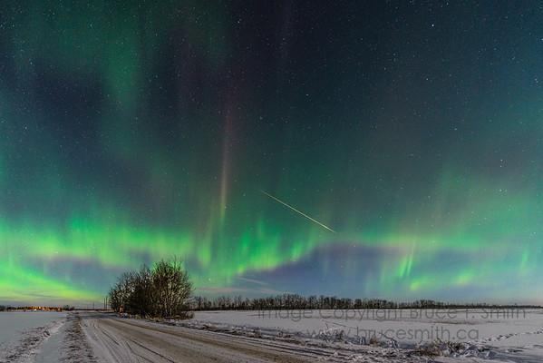183 Aurora Borealis Fireball