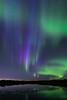 196 Blue Streaks of Aurora Borealis