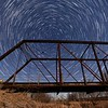 StarStaX_Star Trails - Side of Bridge 100 images