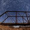 StarStaX_Star Trails - Side of Bridge 100 images