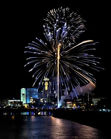 Fireworks - Cubs game 7-2-17 056
