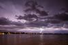 Lightning over Alberta Beach
