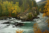 Rearguard Falls, Upper Fraser River, British Columbia in autumn