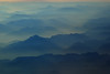 Late evening mountain haze