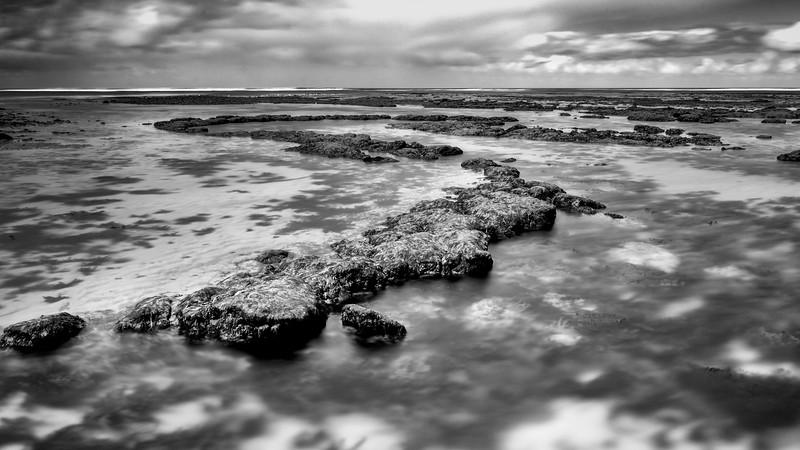 Monochrome at Point danger, Torquay