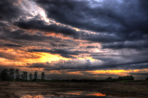 Amazing Clouds at Sunset
