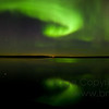 Aurora Borealis Panorama<br /> <br /> A panorama made up of 7 individual portrait-orientation images.  The full image size is 9674x3676 pixels!