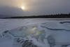 062 Moody Sunrise over Abraham Lake