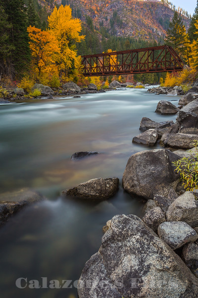 Tumwater Canyon Bridge- 2