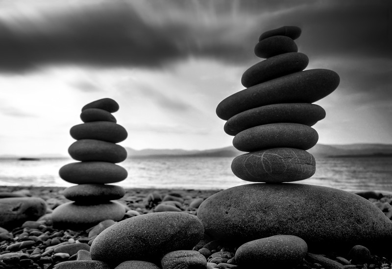 Zen in stone