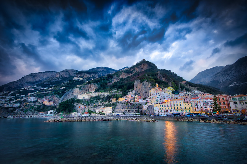 Amalfi`s Pier
