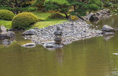 Image will NOT have watermark on your print.  One of many tranquil views in Seattle Japanese Garden.