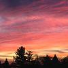 Panoramic view sunset November 2007, WI