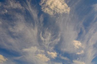 Wispy High Clouds