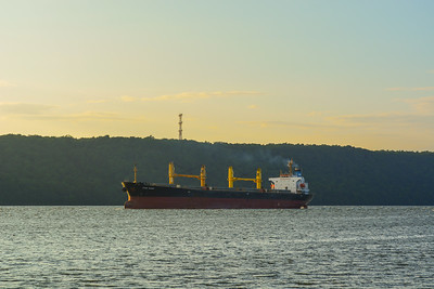 Hauling down the Hudson