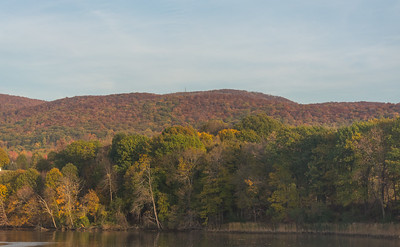 Mount Beacon | Autumn Colors viewed from a Southbound Metro North train