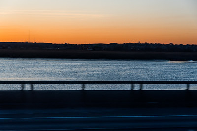 Turnpike Sunset Waters