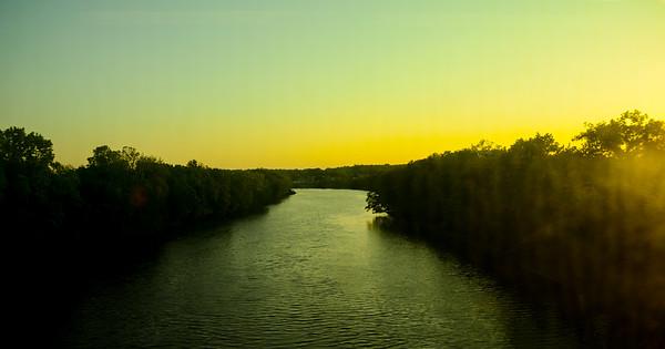 Passaic River Sunset