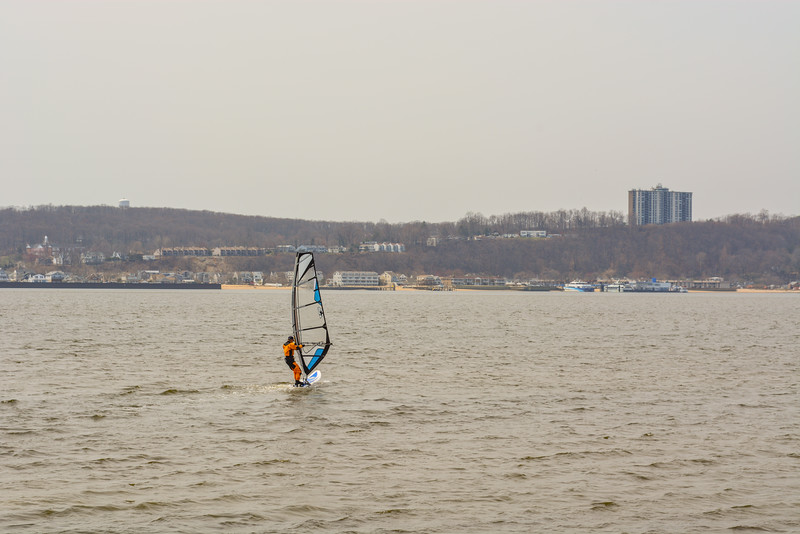 Wind Surfing on Shrewsbury River