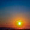 Long Beach Sunset Halo