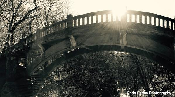 Dam Bridge, Matthiessen State Park, Il
