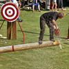 Squamish Days World-Class Open Logger Sports Show, August 2, 2009.
