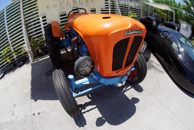 A Lamborghini tractor.