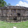 Stone wall at Chichén Itzá