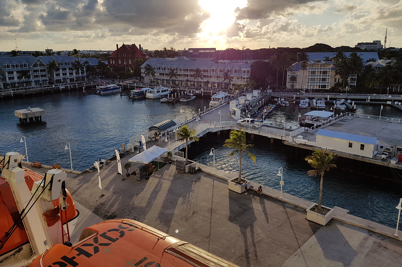 Key West in the morning.