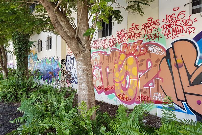 Street art in Wynwood.