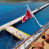 The dock at Costa Maya.