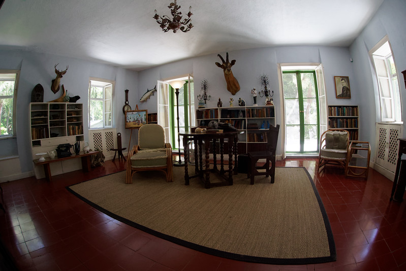 Hemingway's studio.