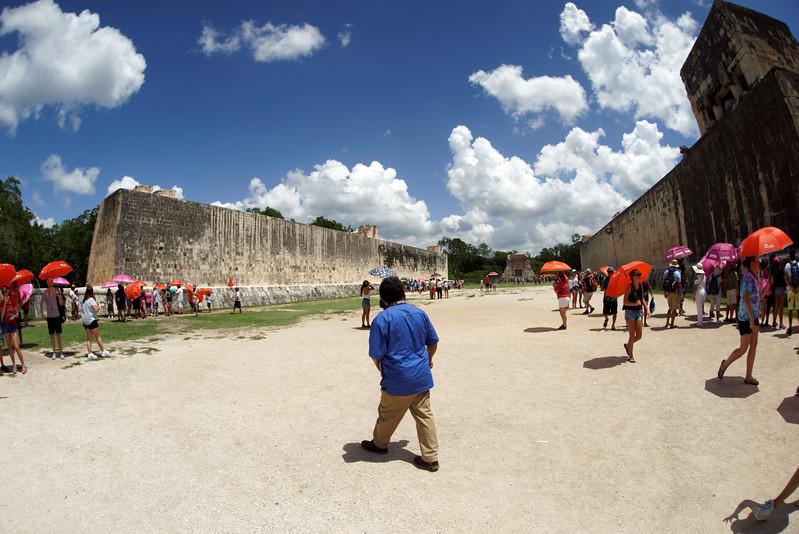 Ball court at Chichén Itzá