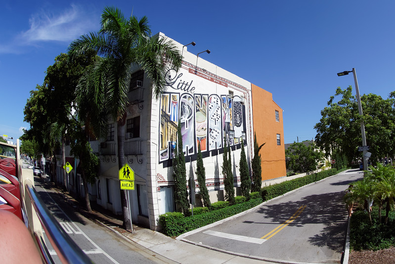 Little Havana.<br /> <br /> The question is who welcomes us?