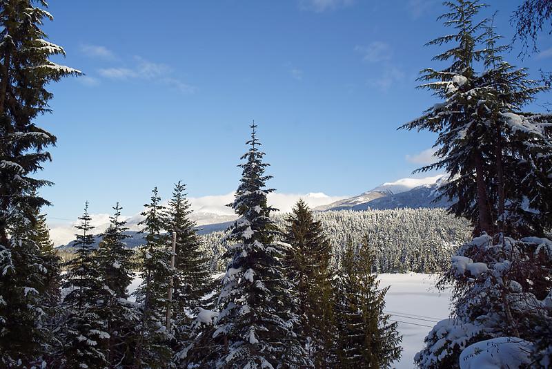 Whistler. Overlooking Alta Lake.